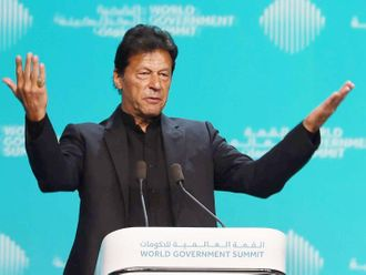 Imran Khan in Dubai