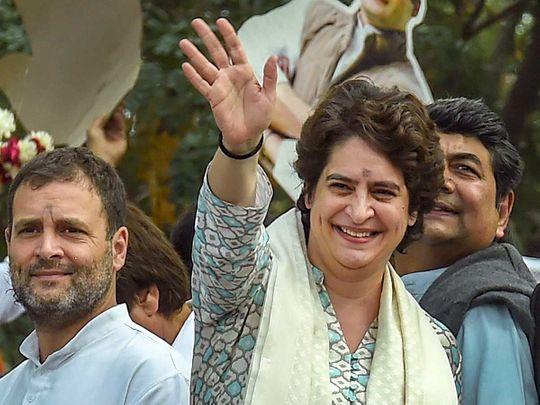 Priyanka Gandhi Vadra AICC General Secretary 20190211
