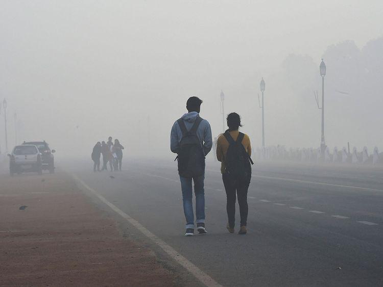 190212 Delhi smog