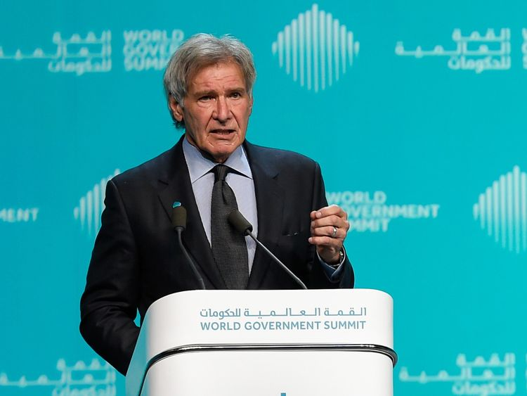 Harrison Ford at WGS