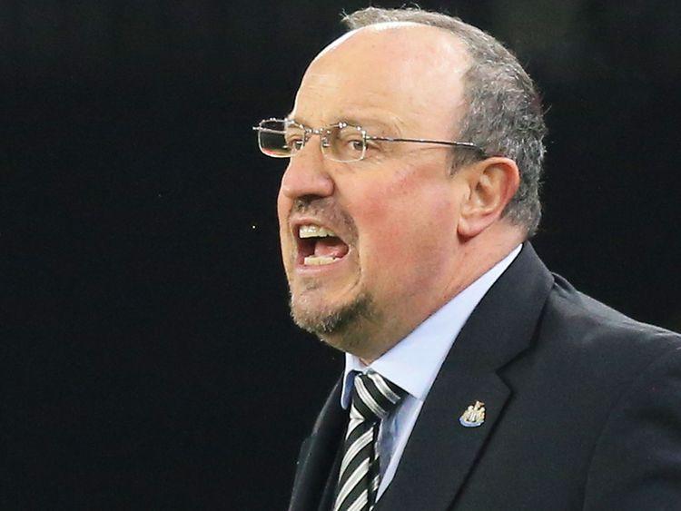 Newcastle United's Spanish manager Rafael Benitez