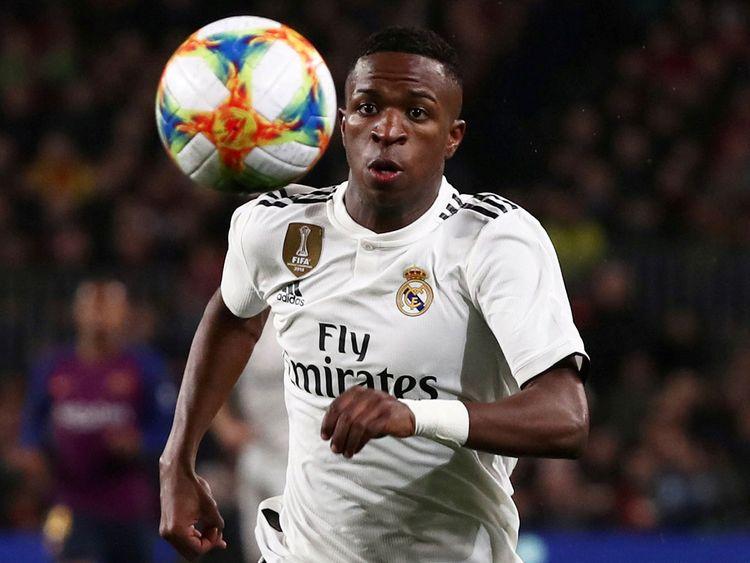 Real Madrid's Vinicius Junior