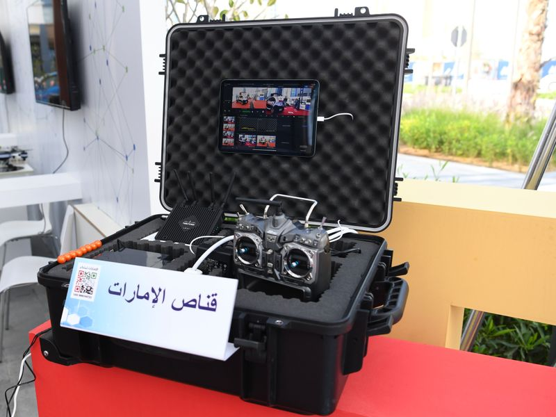 Ajman Police unveil new remote-controlled 4x4 vehicle