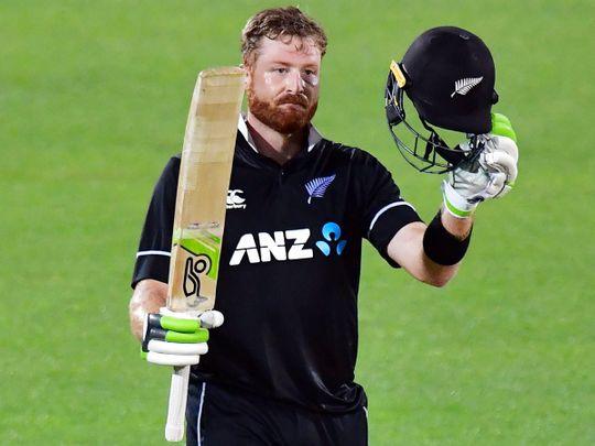 New Zealand's Martin Guptill