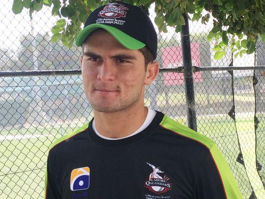 Pakistan pacer Shaheen Afridi