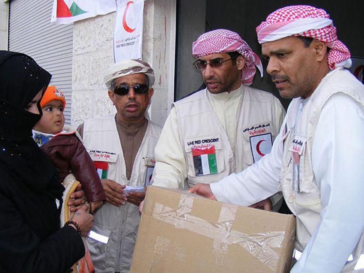 UAE humanitarian operations in Syria
