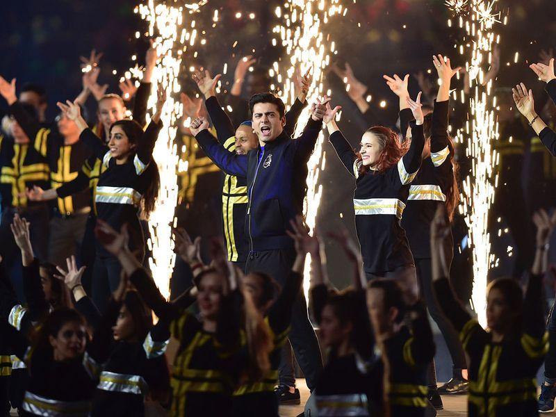 Fawad Khan and team