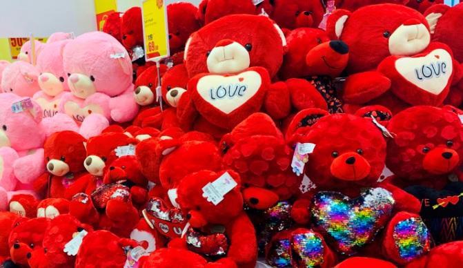 Valentine's Day shopping presents