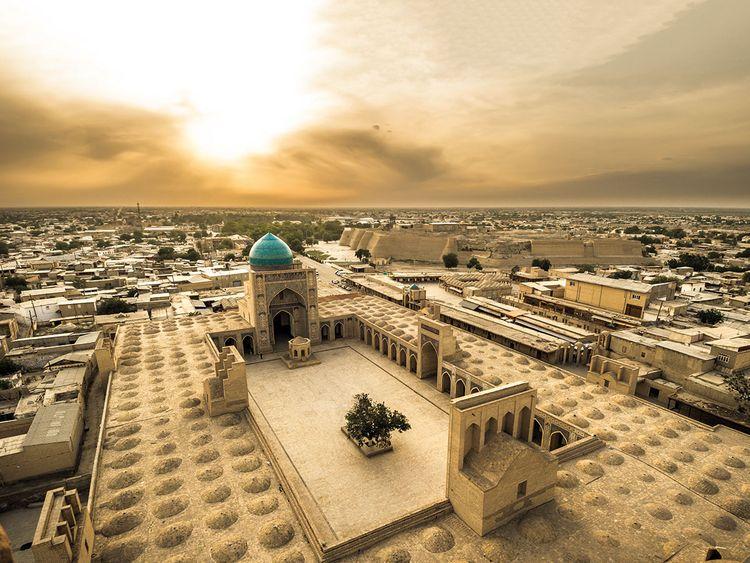 Bukhara, Uzbekistan skyline