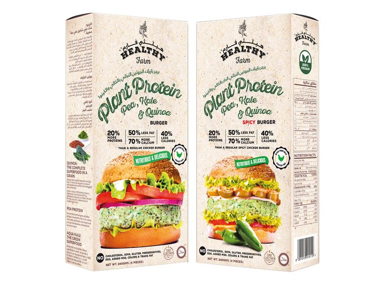 Global Food Industries to launch plant-based protein burgers