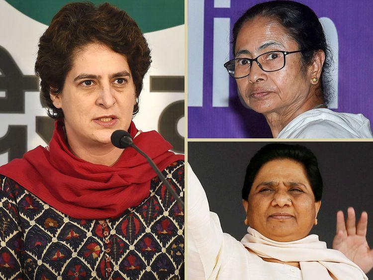 Priyanka Gandhi Vadra, Mamata Banerjee and Mayawati combo