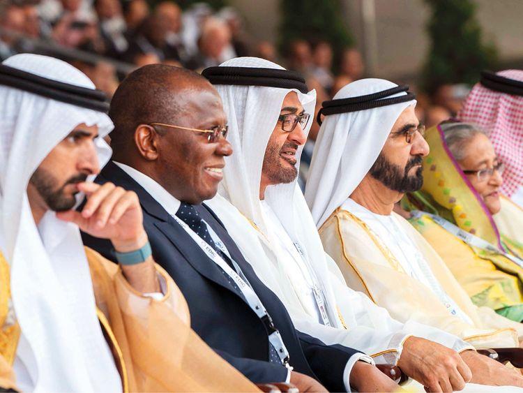 Shaikh Mohammad Bin Rashid Al Maktoum, Shaikh Mohammad Bin Zayed