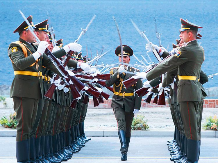 The Armenian Military Orchestra