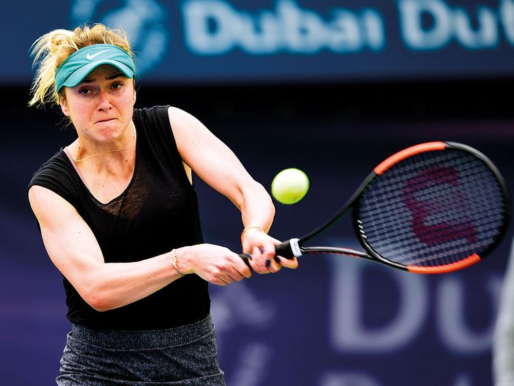 Elina Svitolina of Ukraine