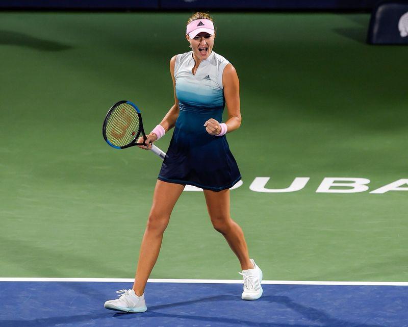 Kristina Mladenovic of France 09