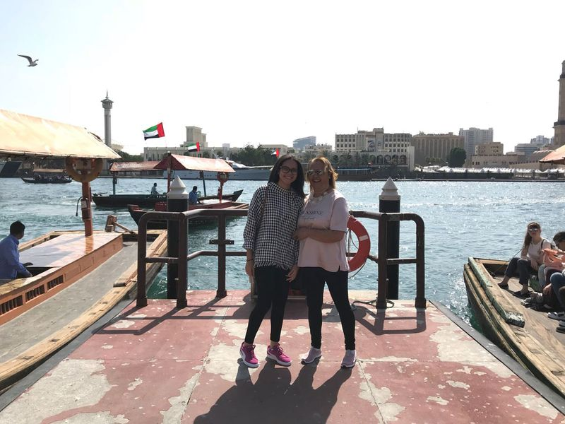 The Macade Family visits Dubai From Brazil
