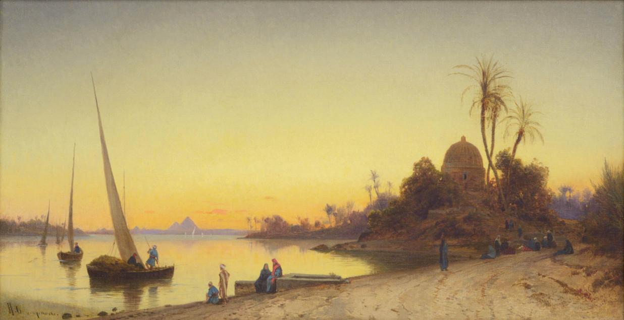 8-Hermann-Corrodi_Sunset-bythe-Nile-OF2-1-Mb-1550662153878