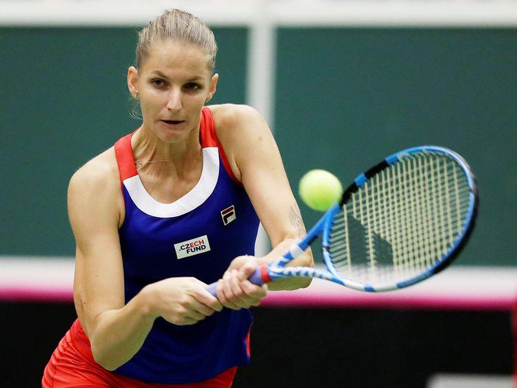 Czech Republic's Karolina Pliskova