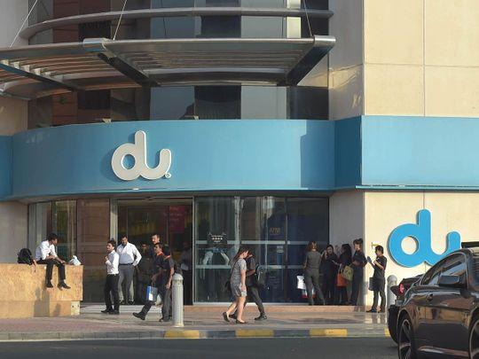 DU office at Dubai Internet City.