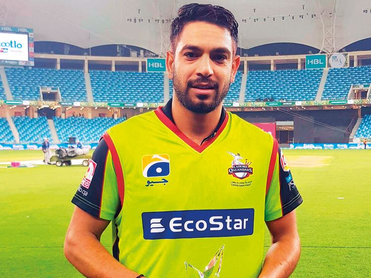 Harris Rauf of Lahore Qalandars
