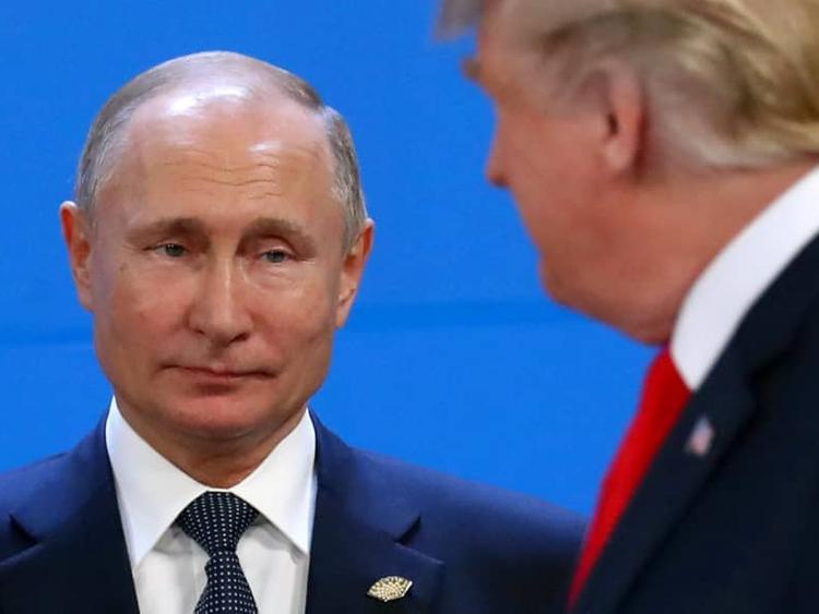 Russian President Vladimir Putin and US President Donald Trump 001