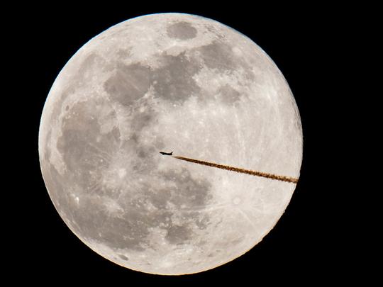 Super moon sightings February