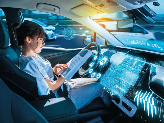 autonomous car, driverless car, self-driving car
