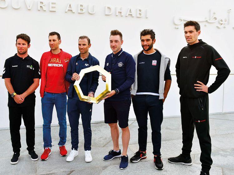 The top UAE Tour riders Mark Cavendish