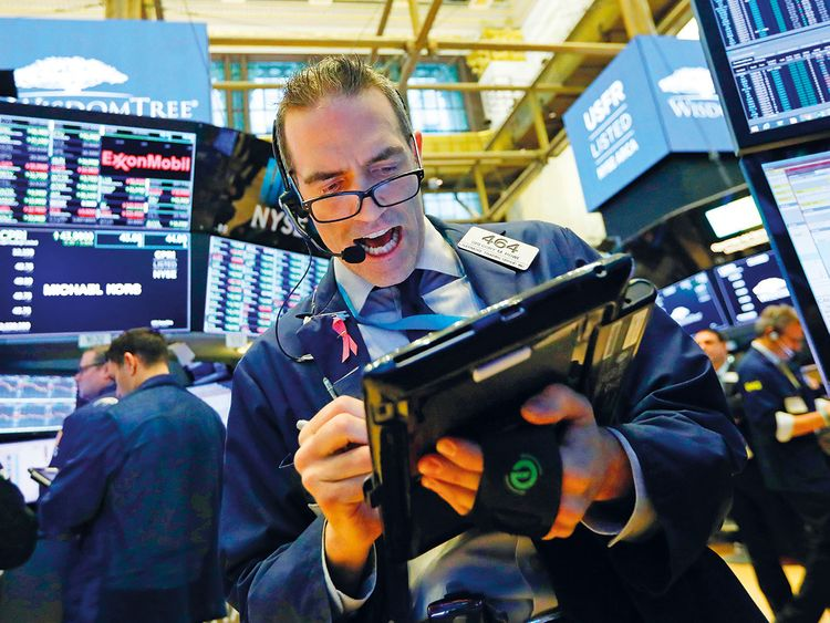 Traders at the New York Stock Exchange 8