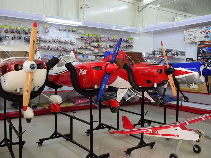 Watch: Dh2 million worth of RC aircraft to battle for the