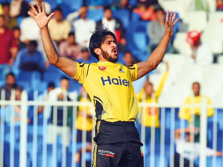 Hasan Ali of Peshawar Zalmi