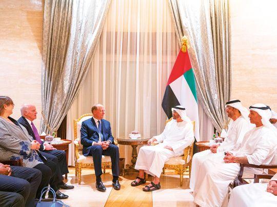 His Highness Shaikh Mohammad Bin Zayed