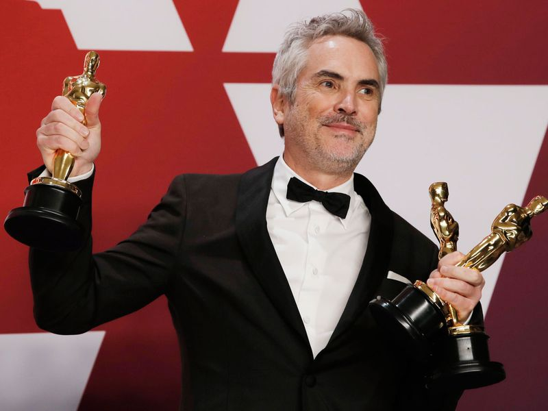 Alfonso Cuaron wins Oscar for best director for Roma