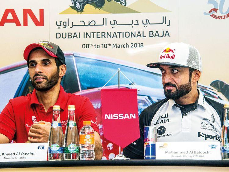 Khalid, Al Baloushi headline Dubai Baja