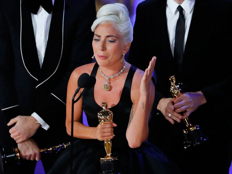 Lady Gaga wins Oscar for best original song