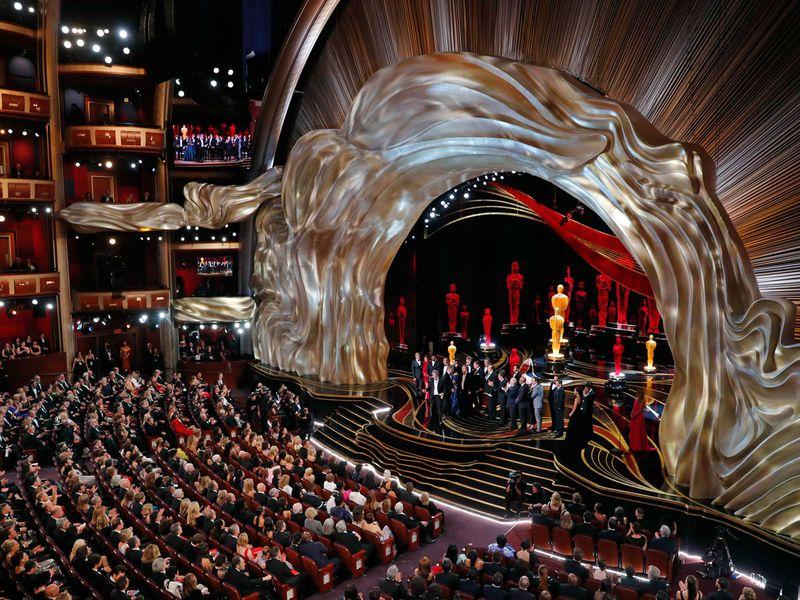 Oscars 2019 stage