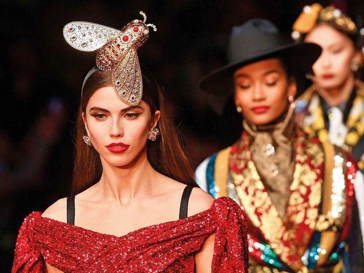 f680cdb1858f Milan Fashion Week: Dolce & Gabbana go bold with 127 looks