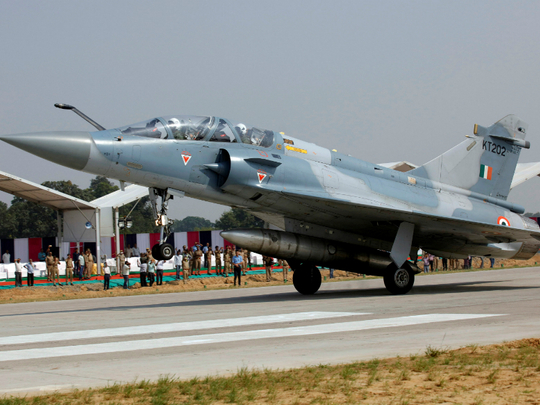 An Indian Air Force Mirage-2000 aircraft 000