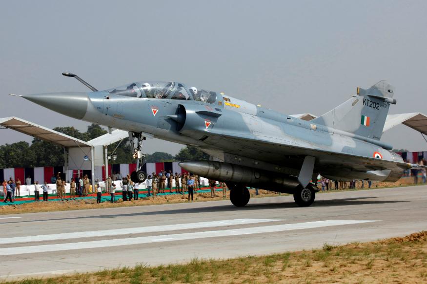 An Indian Air Force Mirage-2000 aircraft 000