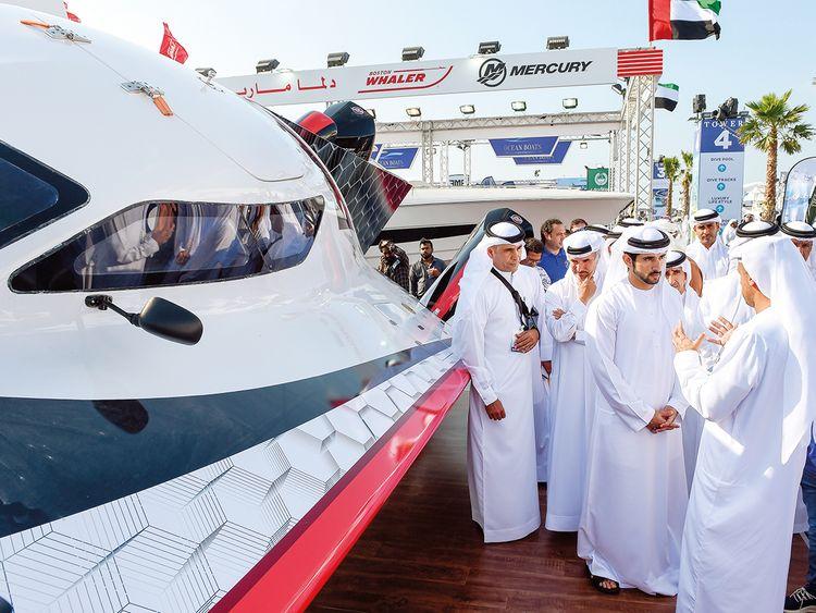 Dubai International Boat Show 1