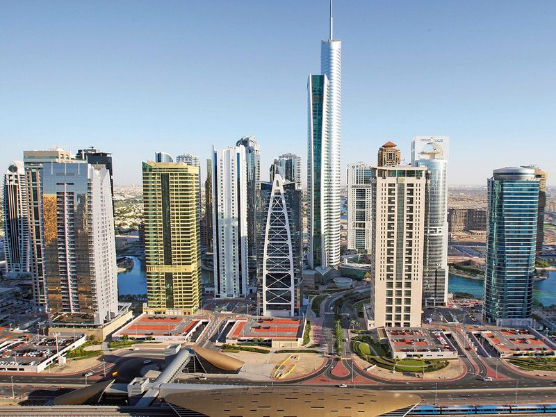 Jumeirah Lake Towers in Dubai Marina