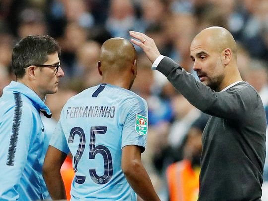 Manchester City manager Pep Guardiola 3