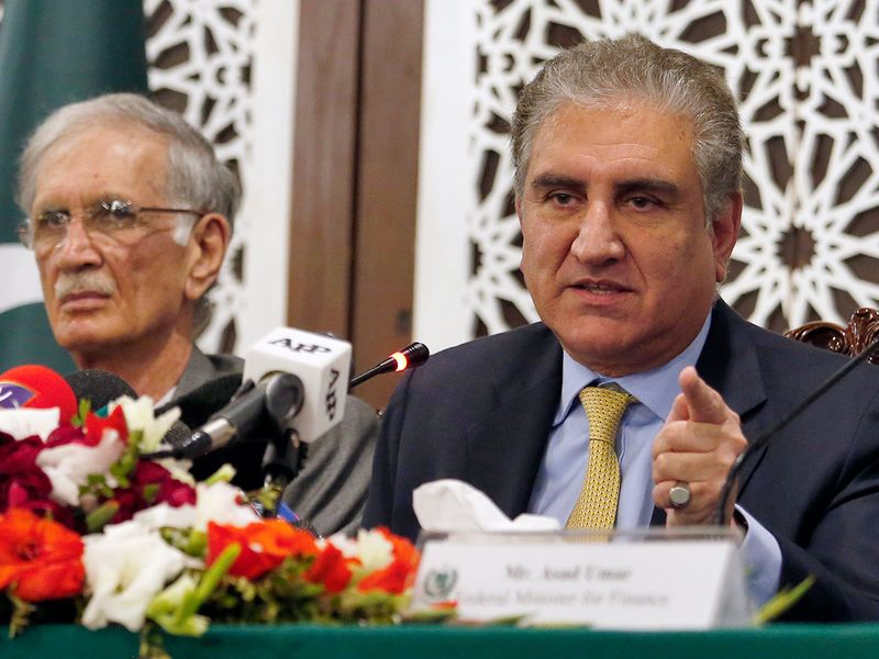 Pakistani Foreign Minister Shah Mahmood Qureshi