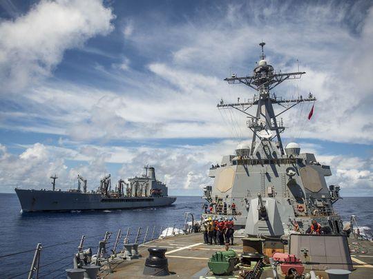 US Navy Destroyer