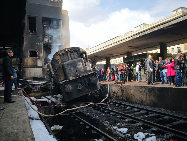 Cairo Train crash