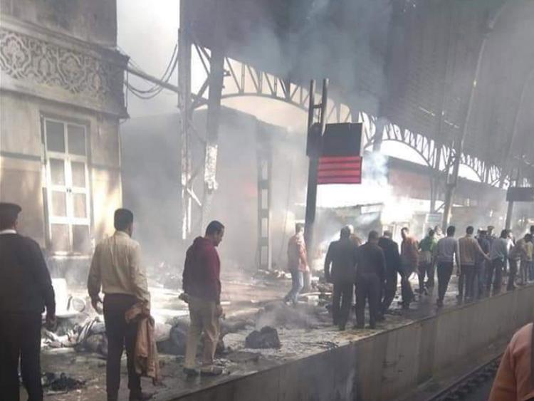 Cairo Train crash