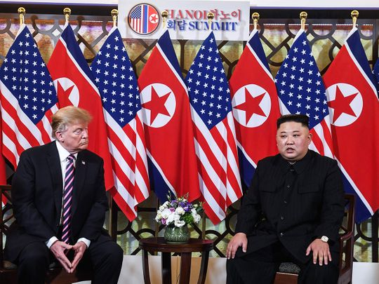 Trump kim hanoi meet 1