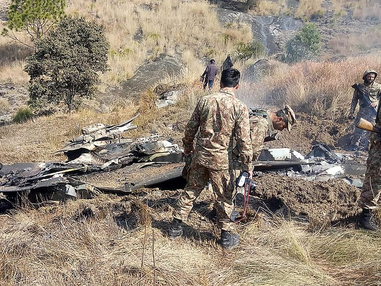 Indian Air Force insists it shot down one Pakistani F-16