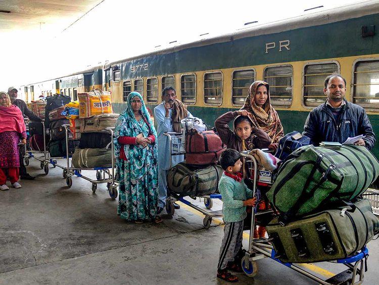 Samjhauta Express train 20190228