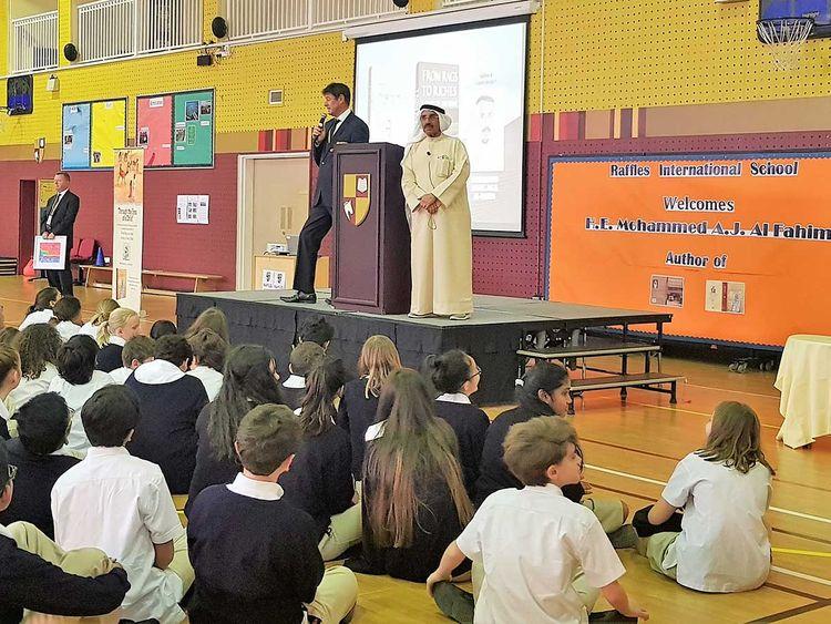 Emirati author Mohammad Abdul Jaleel Al Fahim
